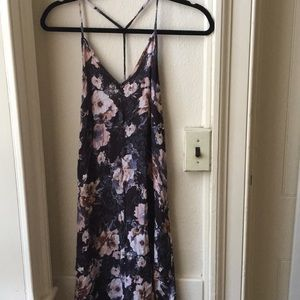 Urban Outfitters Band of Gypsies Floral Maxi Dress